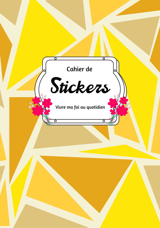 Cahier de Stickers