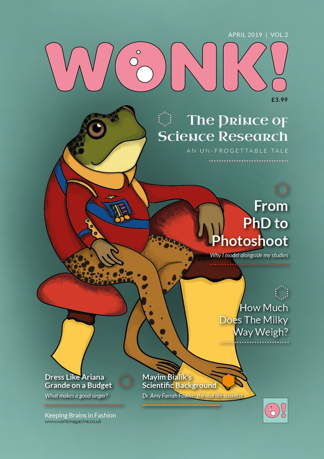 Wonk! Issue 2 (April 2019)