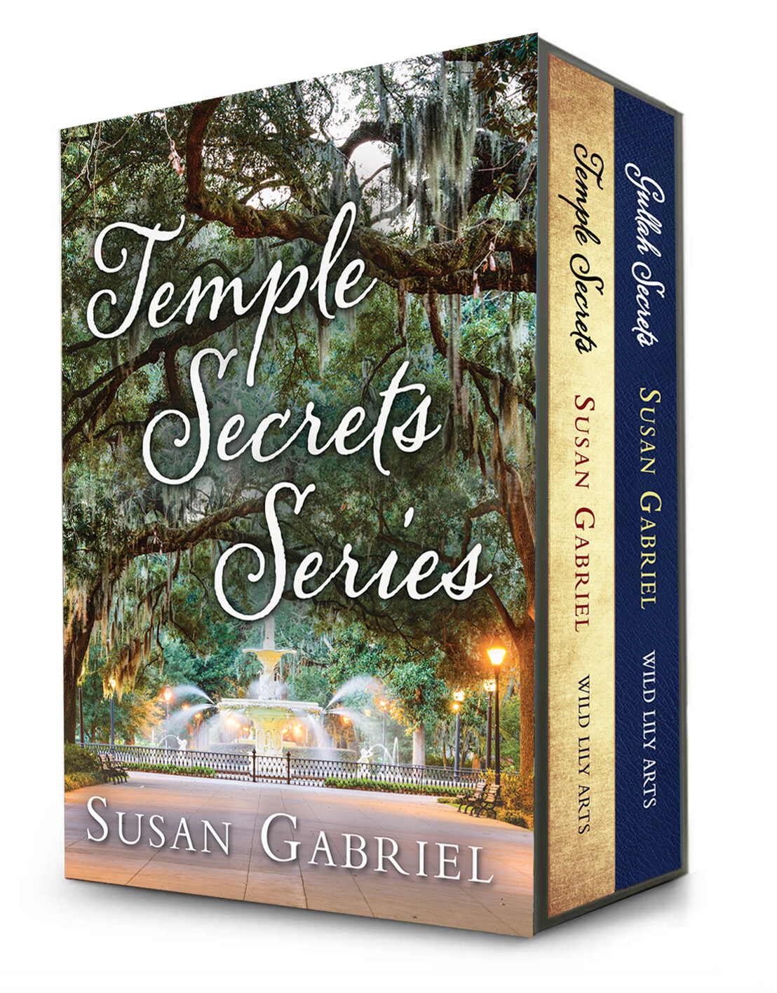 Temple Secrets Series - one volume paperback, autographed by the author