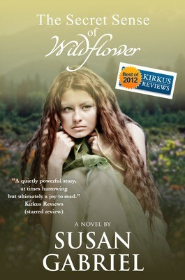 The Secret Sense of Wildflower, hardcover, autographed by author