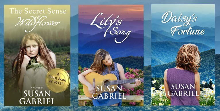 The Wildflower Trilogy, hardcover, autographed by author