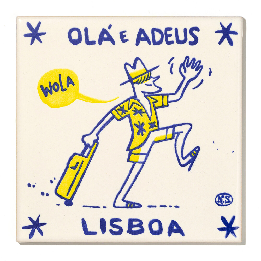 Olá e Adeus Lisboa