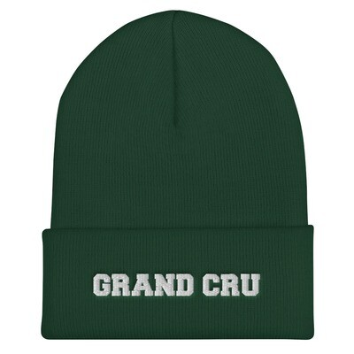 GRAND CRU BEANIE (GREEN & NAVY)