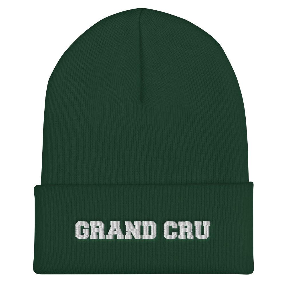 GRAND CRU BEANIE (GREEN & NAVY)
