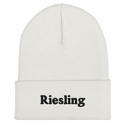 RIESLING BEANIE (WHITE & GREY)