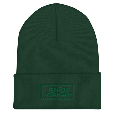 *LIMITED* OLD-SCHOOL BEANIE - HIPHOP (GREEN)