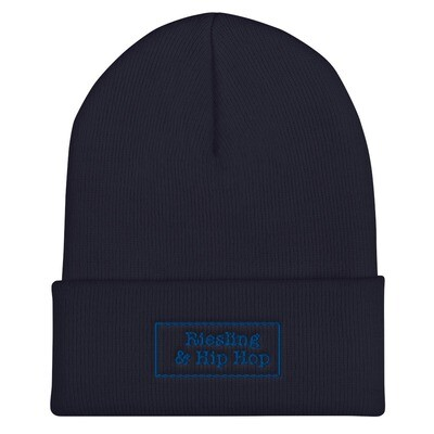 *LIMITED* OLD-SCHOOL BEANIE - HIPHOP (BLUE)