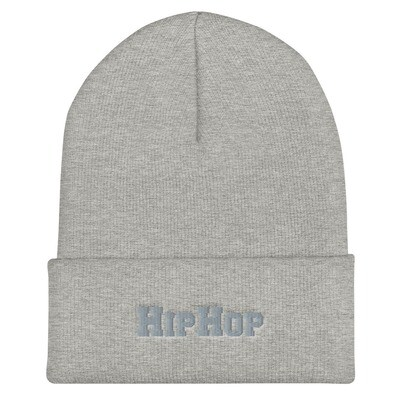 *LIMITED* OLD-SCHOOL BEANIE - HIPHOP (GREY)