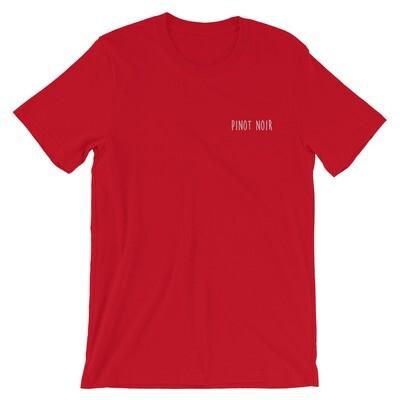 COLOURFUL PINOT NOIR T-SHIRT (RED)
