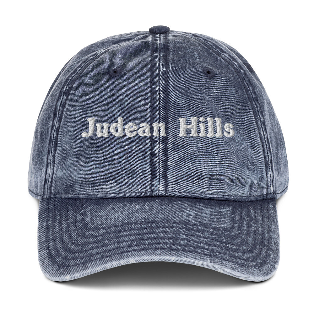 JUDEAN HILLS (OLD-SCHOOL) CAP