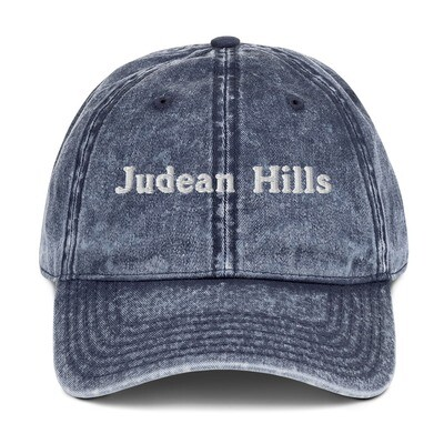 JUDEAN HILLS (OLD-SCHOOL) CAP