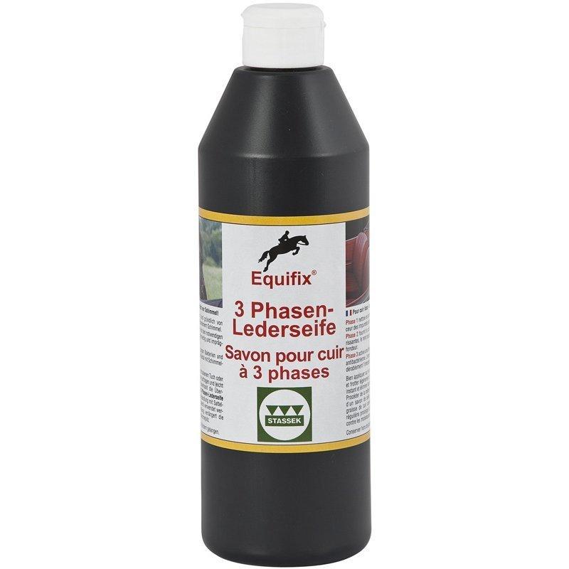 EQUIFIX 3 Phasen Lederseife, Antischimmelschutz, flüssig
