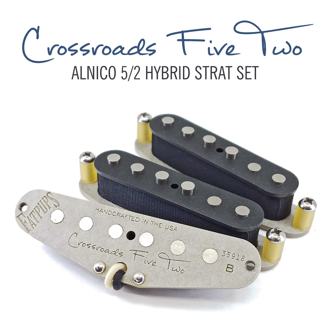 Crossroads 5/2 Strat®  Pickups