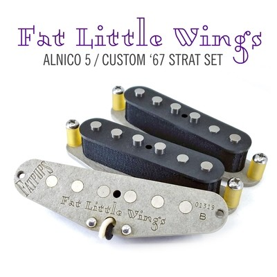 Fat Little Wings Strat®  Pickups