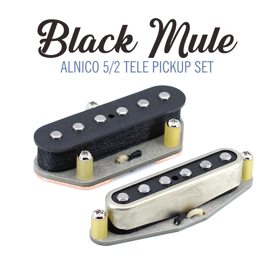 Black Mule Tele® Pickups