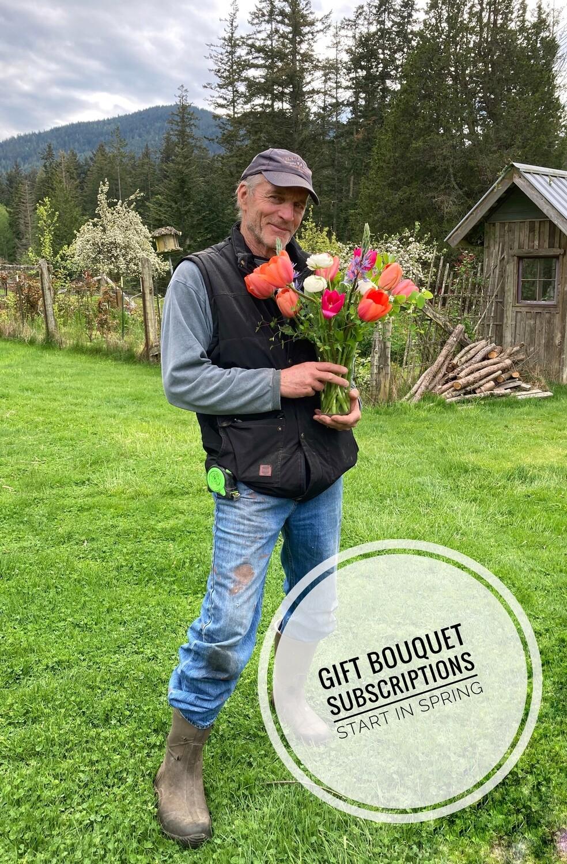 Four week Bouquet Subscription