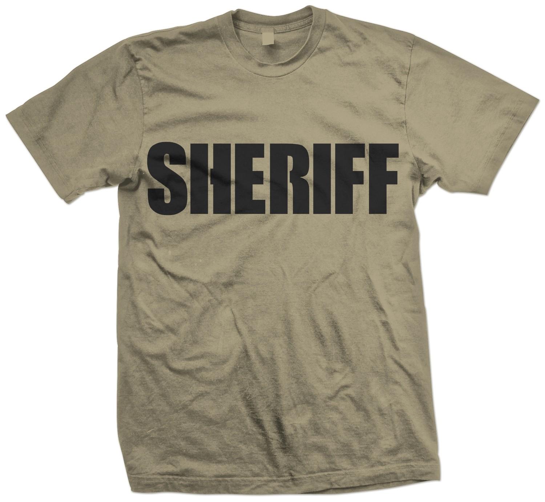 "Men's Raid ""Sheriff"" Tee Shirt"