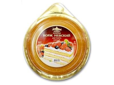 Коржи для торта Невские ванильные. 3 коржа, 400 гр