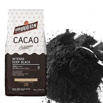 Черный какао-порошок Intense Deep Black 200 гр