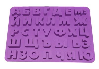 Форма силиконовая алфавит большой