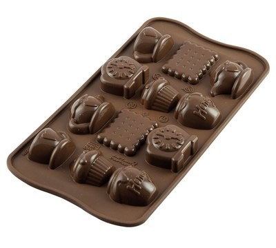 """Форма для шоколада 22,5х10,5х2 см """"Чаепитие"""""""
