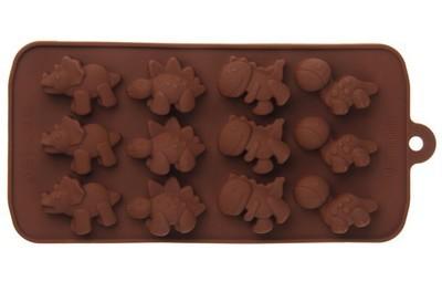Форма для шоколада Дино