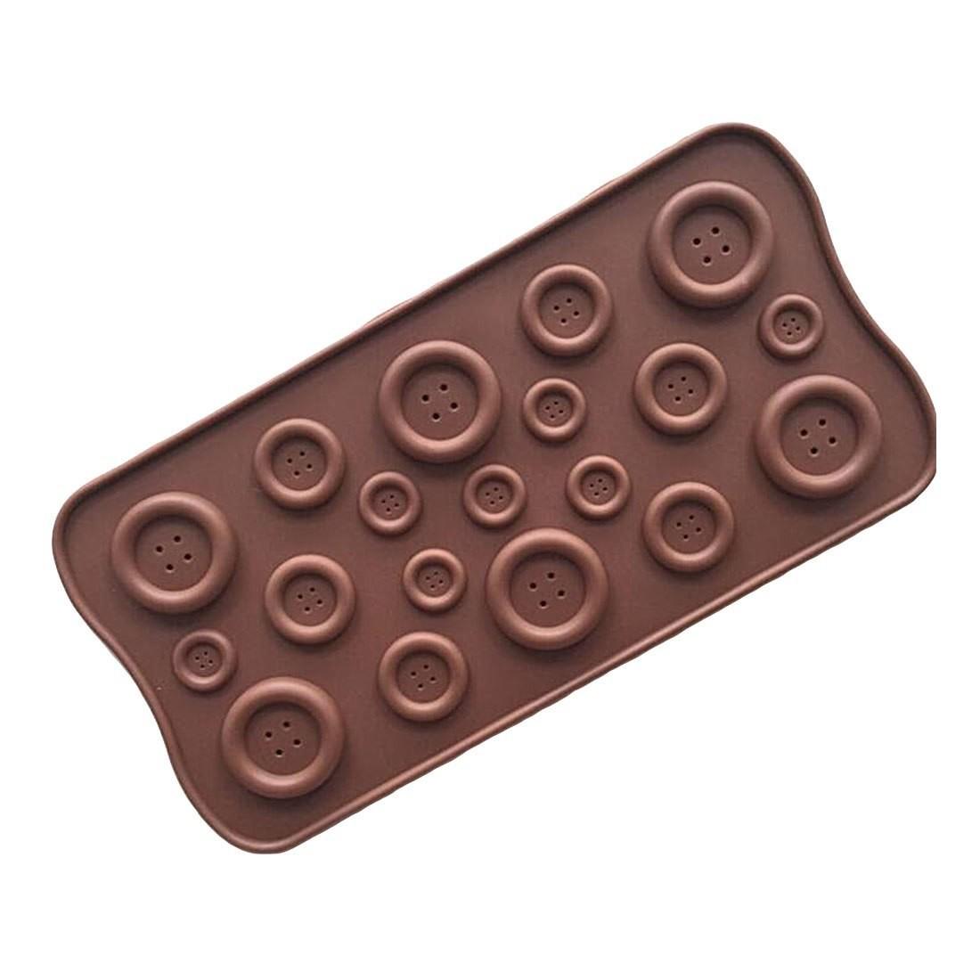 "Форма для шоколада и мастики 22х10,5 см ""Пуговицы"""