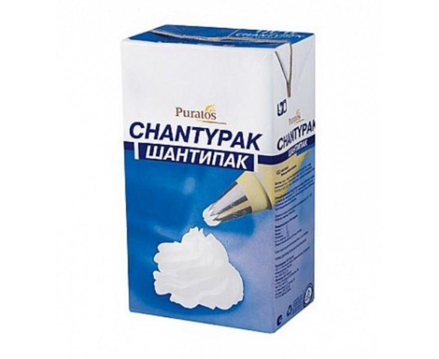 Растительные сливки Шантипак, 1 литр