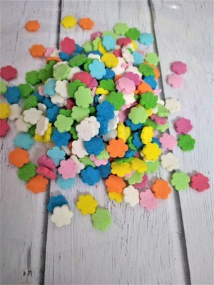 Посыпка цветочки микс 100 гр