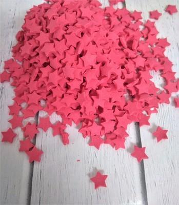 Посыпка звезды большие красные 100 гр