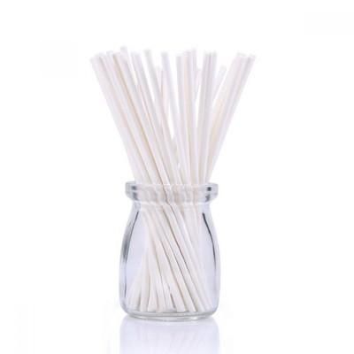 Палочки для кейк-попсов/меренги белые -  50 штук. Длина 15 см