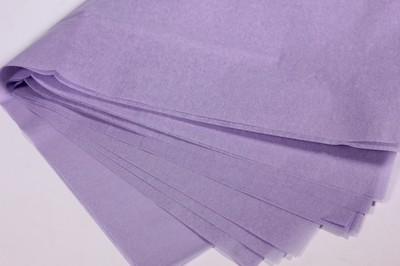 Бумага тишью Сиреневая 50х66 см (10 листов)