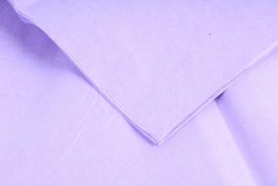 Бумага тишью Светло-фиолетовая 50х66 см (10 листов)