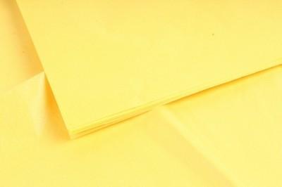 Бумага тишью Желтая 50х66 см (10 листов)
