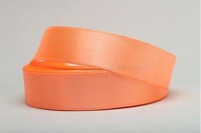 Лента атласная 12 мм абрикосовая