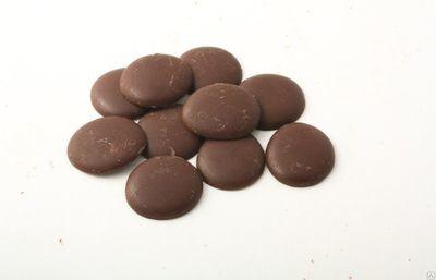 Глазурь шоколадная лауриновая молочная Шокомилк.  500 гр