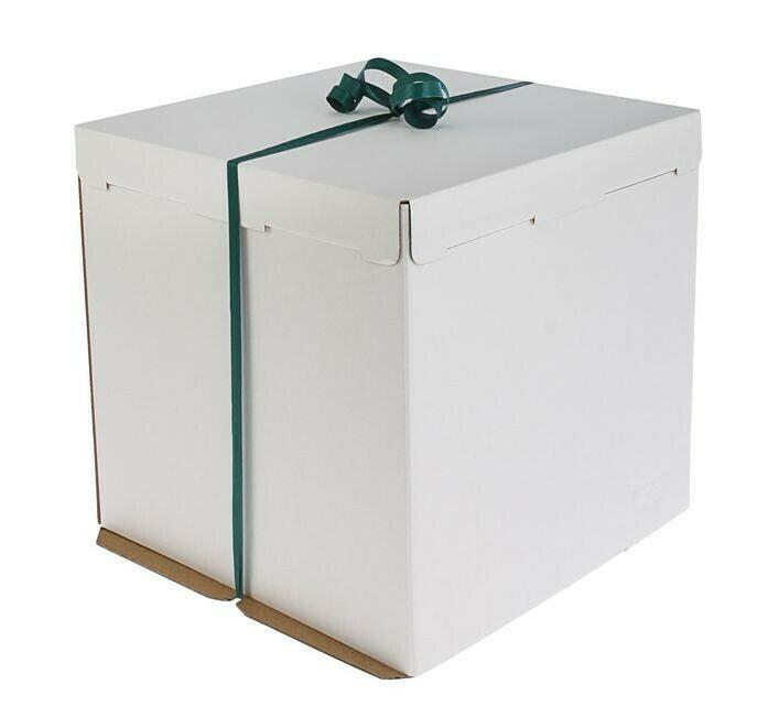 Коробка картонная усиленная гофрокартон 42х42х45 см
