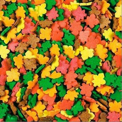 Посыпка сахарная Осенние листья. 100 гр