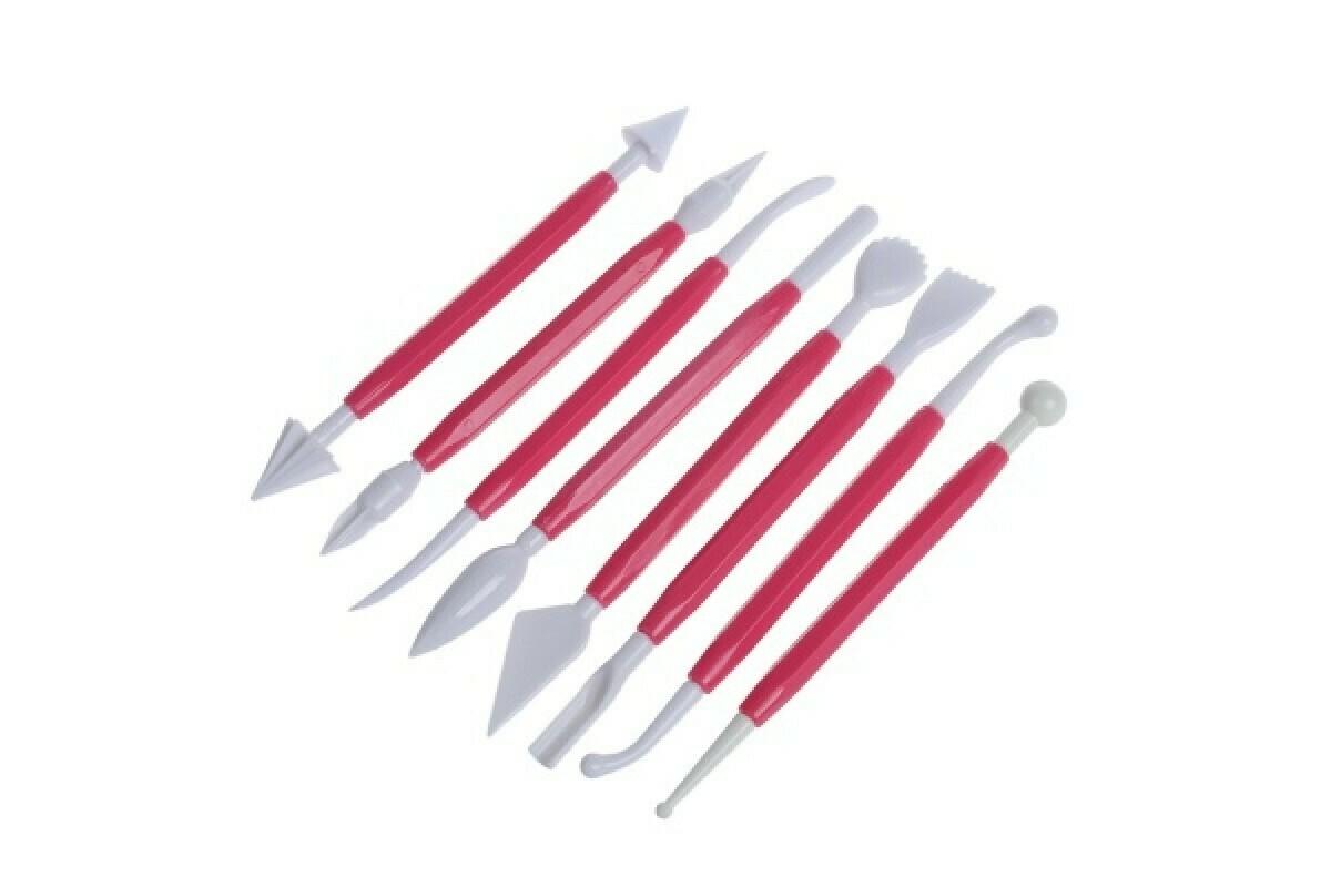 Инструменты для работы с мастикой 8 шт.