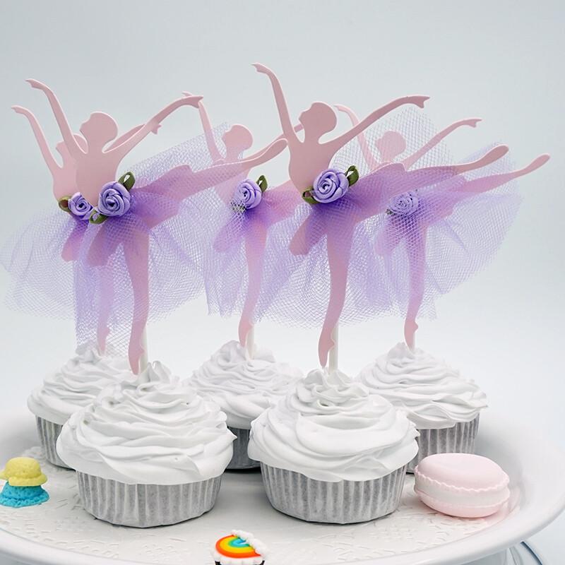 Топпер балерина фиолетовый 1 шт