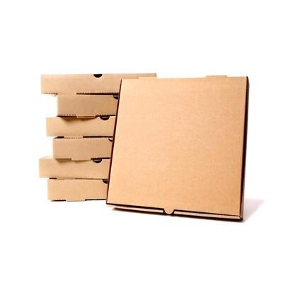 Коробка для пиццы гофрокартон крафт  40х40х4