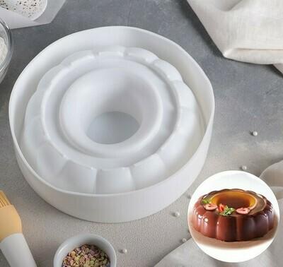 Форма для муссовых десертов и выпечки 24×6,5 см