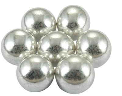 Фундук в сахарной глазури серебро 50 гр.