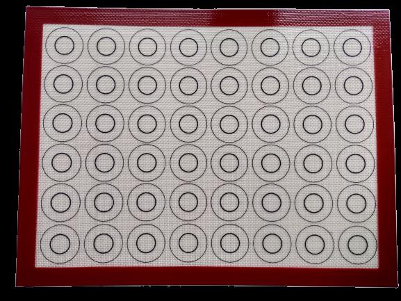 Коврик для макаронс армированный 60х40