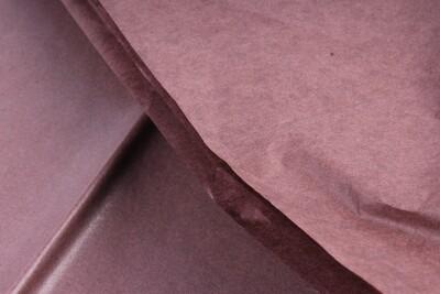 Бумага тишью Коричневая 50х66 см (10 листов)