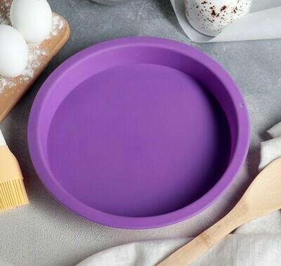 Форма для выпечки силиконовая 19х3 см