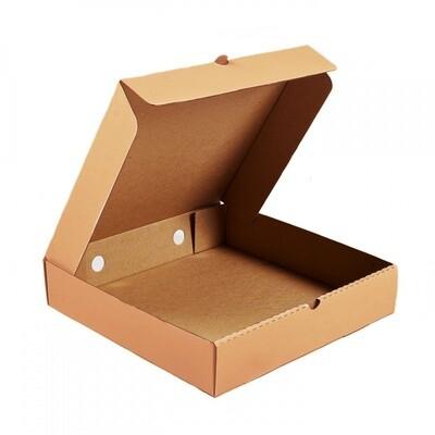 Коробка для пирогов, тортов, пирожных 28х28х7 без окна крафт