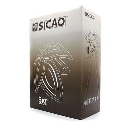 Шоколад белый Sicao от Barry Callebaut. Упаковка 5 кг
