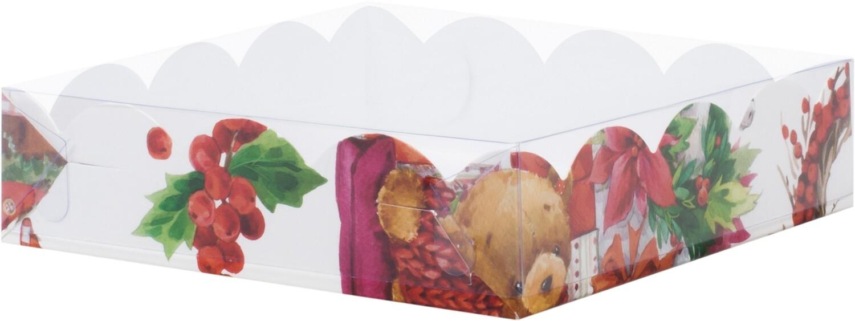 Коробка для печенья и пряников 200*120*35 мм (XMAS)