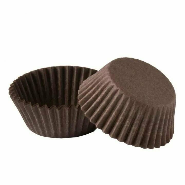 Тарталетка (конфета) коричневая 35х20мм. 50 шт.
